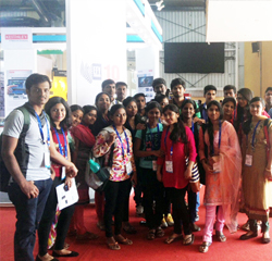 BSc- Visit to Electronics Exhibition